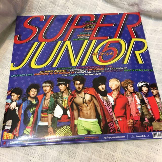 Super Junior 韓版 五輯 始源封面