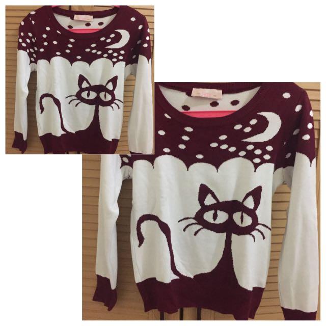 Sweater JRep Maroon