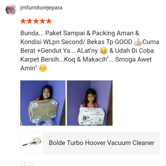 Testi Bolde Vacum Cleaner