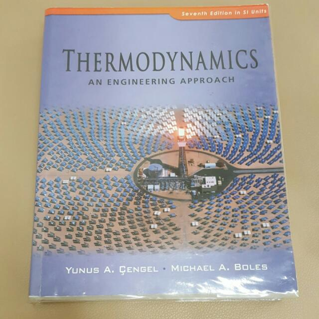 Thermodynamics An Engineering Approach 7th Edition Si Units Mcgraw