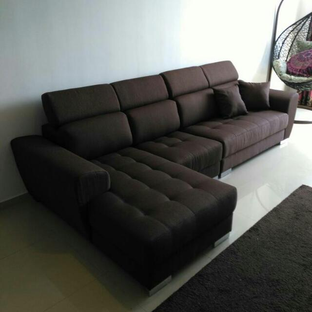 Thx Carousell Frens Support 2+1+L-Shape Waterproof Fabric Sofa With Pocketed spring