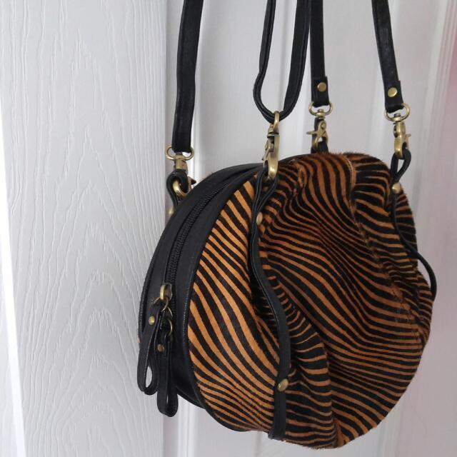 Tiger Print Side Bag (non Branded)