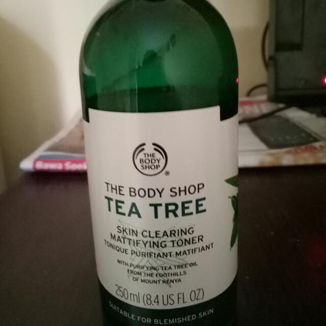 Toner tea tree the body shop