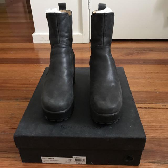 Tony Bianco Rumbler Chelsea Boots SIZE AUS/US 8