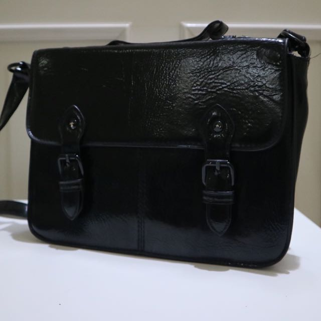 TOPSHOP BLACK BAG