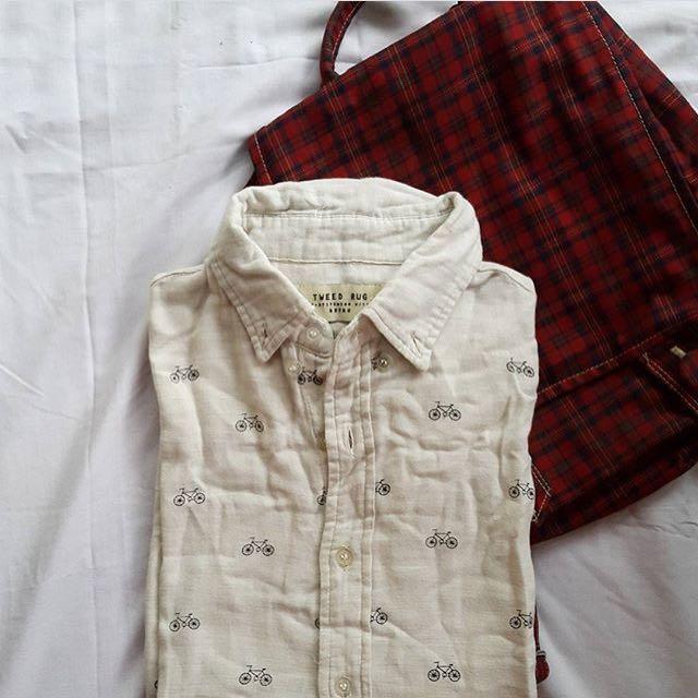 TWEED RUG Retro Vintage Shirt