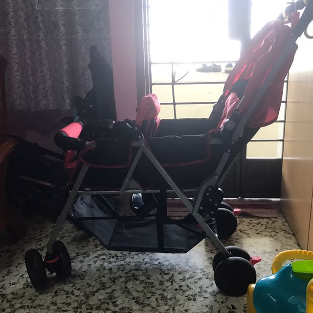 Twin Stroller Chris Belle Babies Kids Strollers Bags Carriers On Carousell
