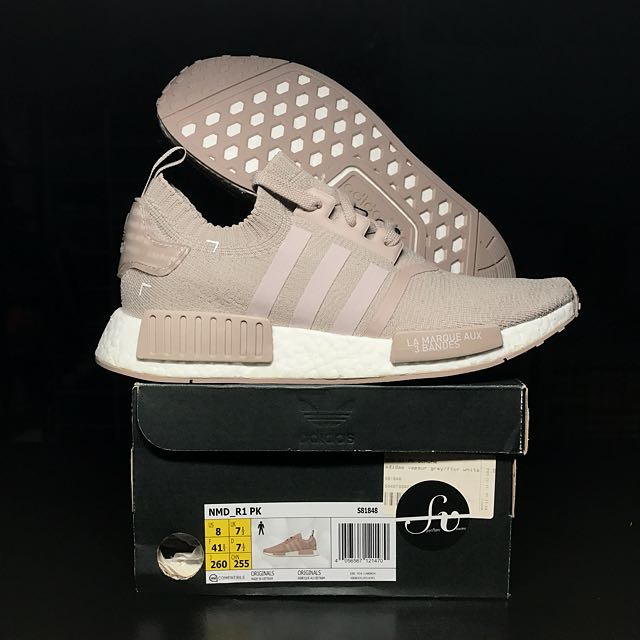 3a90cb5c7 UK 7.5 Adidas Originals NMD Primeknit Japan Pack Vapour Grey ...