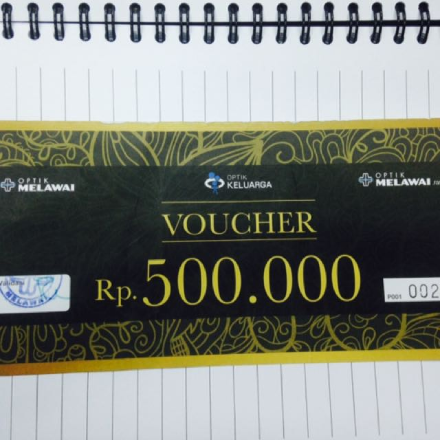 Voucher Optik Melawai 500k
