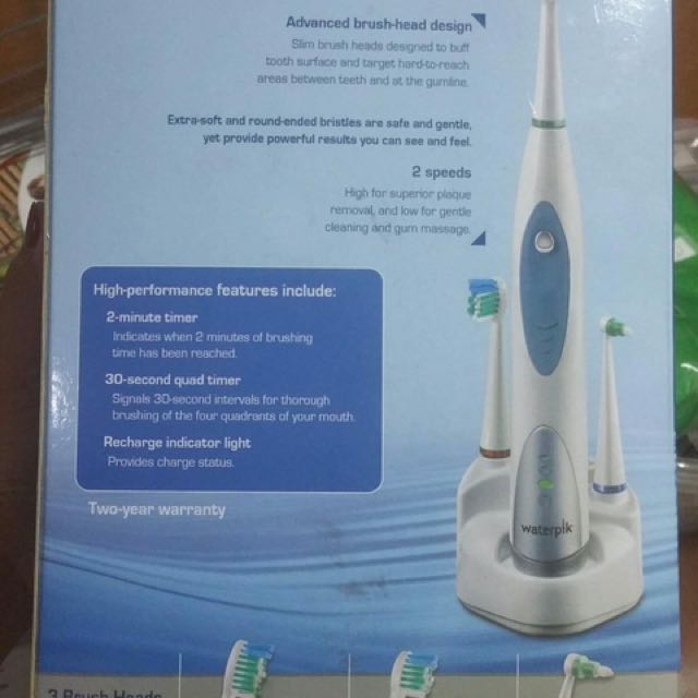 Waterpik Electric Toothbrush