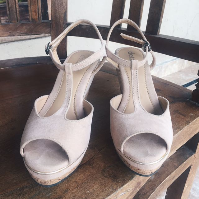 Wedges DETAILS WK.1 Nude Size 37