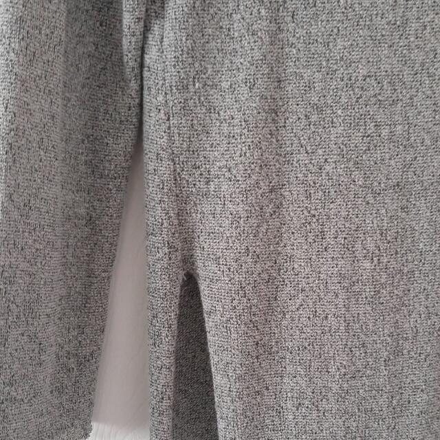 Zara Long Side Slit Top (Frayed Cutting)