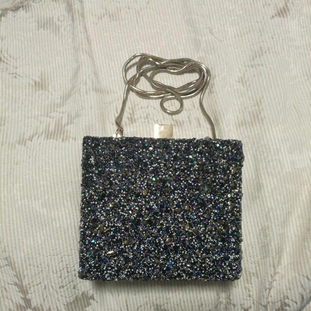 Zara Multi Beaded Clutch