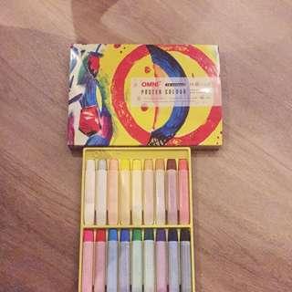 18 Colours Omni Poster Colours Paint