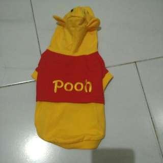 Dog Shirt - Winnie The Pooh Design