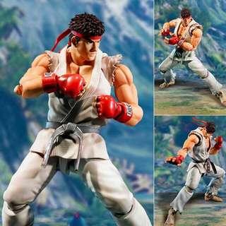 NEW Ryu & Chun-Li Figure From Bandai
