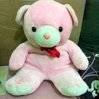 Boneka Beruang Pink BESAR