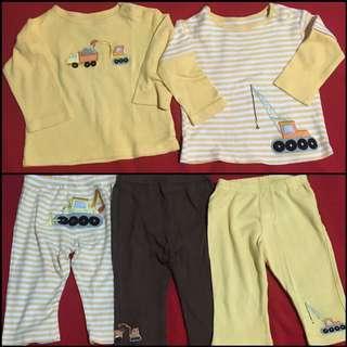 Mom N Bab Bundling Tops+Trousers