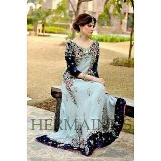 BV4529VD - Sari India Maxi/maxy/long dress hermain