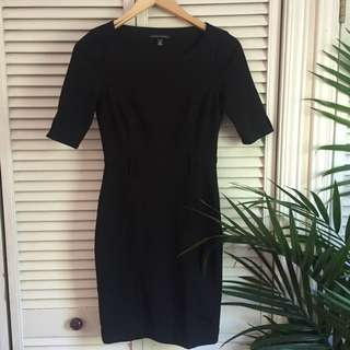 Banana Republic black business Dress