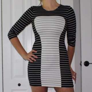 Bebe Striped Dress
