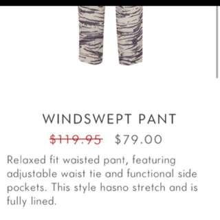 Sheike Windswept Pants