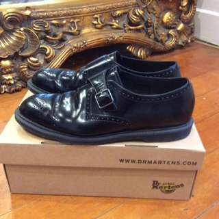 Doc Martens (from Jack London) Single Monk Strap Worn Once, Current Style Cobden