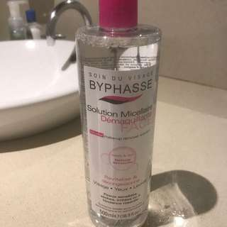 BYPHASSE makeup remover