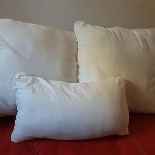 3 large pillows
