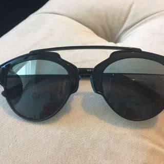 Two Toned Dior So Real Sunglasses