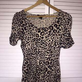 H&M Cheetah Top