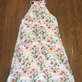 Misguided Floral Shift Dress