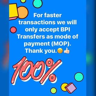 MOP: BPI Transfers Only