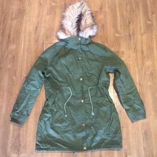 Green Parker Jacket
