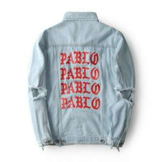 Kanye West Pablo Denim Jacket