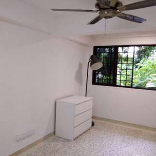 Tiong Bahru Hdb - Small Room W/o Aircon (window & fan), No Agent,  male tenant