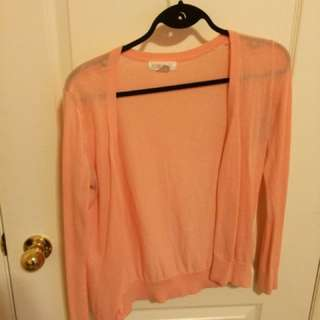 Forever 21 Light Pink Cardigan