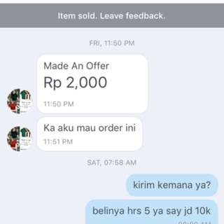 @JULAYSHOP NOT RECOMMENDED BUYER