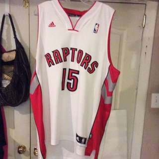 Authentic Adidas Raptors Amir Johnson Jersey