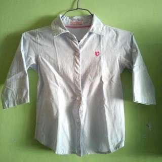 Button Down Shirt for Girls