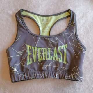 Everlast Workout Bra /crop Top Size 8 New
