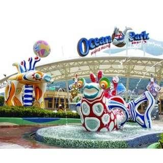 Ocean Park & Disneyland Hong Kong ticket