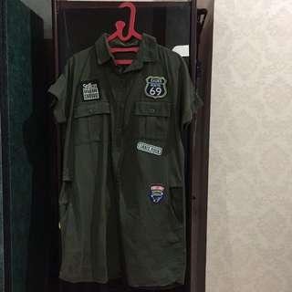 Army Patch Dress