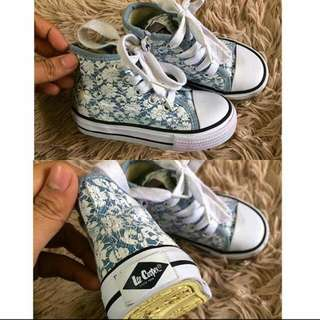 Authentic Lee Cooper Floral Hi Cut (Layne Style) For Girl -Free Postage-