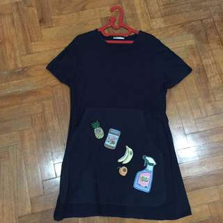 Zara Patch Dress