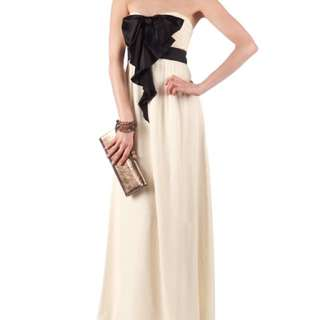 Ted Baker Strapless Gown