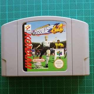 International Superstar Soccer 64 for Nintendo 64