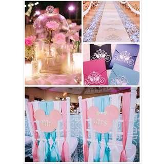 Disney theme wedding decorations