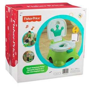 Brand New Royal Fisher Price Potty + Steeping Stool 3in1