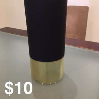 Black and Gold Vase